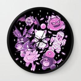 Final Fantasy Moogle Chocobo Tonberry Cactuar Bomb BatEye Gimme Cat Trick or treat Wall Clock