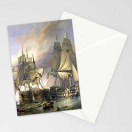 The Battle of Trafalgar Stationery Cards