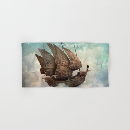 Flying Merchant Hand & Bath Towel