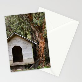 House in woods Stationery Cards