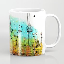 Coney Island Art Coffee Mug