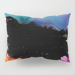 Mountainside Abstract Pillow Sham