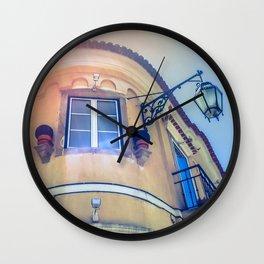 Window Corner Wall Clock