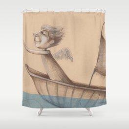 Sailing Shower Curtain