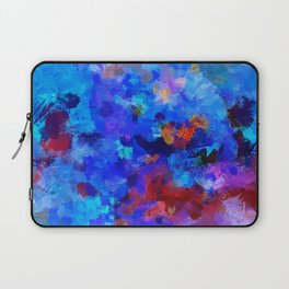 Abstract Seascape Painting Laptop Sleeve
