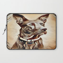A Belgian Malinois Laptop Sleeve