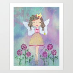 Princess Fairy Art Print