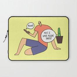pizza is always a good idea Laptop Sleeve