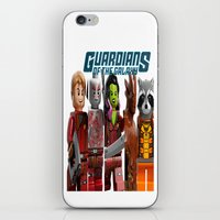 guardians of the galaxy iPhone & iPod Skins featuring guardians of the galaxy by store2u