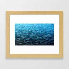 .deep. Framed Art Print