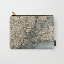 Map of Upstate New York 1891 Carry-All Pouch