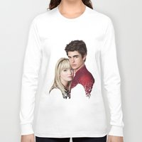 garfield Long Sleeve T-shirts featuring THE AMAZING SPIDER-MAN by FISHNONES