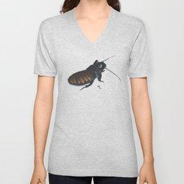 Madagascar Hissing Cockroach Unisex V-Neck