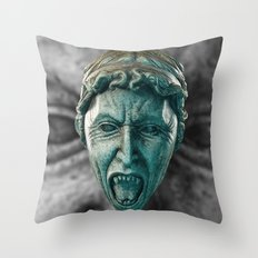 Doctor Who Angry Angels!  Throw Pillow