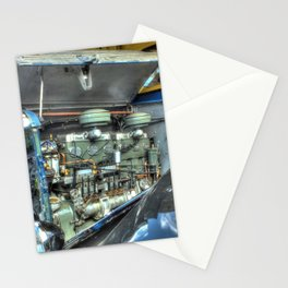 Guy Arab Bus Engine Stationery Cards