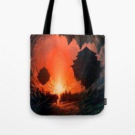 Feudal Cavern Tote Bag