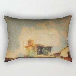 Fisherman Houses Rectangular Pillow