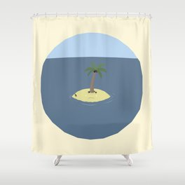 BandNames : The Lonely Island Shower Curtain