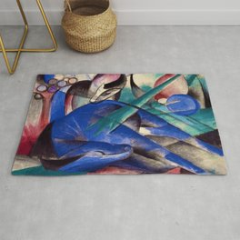 Dreaming Horse by Franz Marc Rug