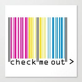 CHECK ME OUT (pan) Canvas Print