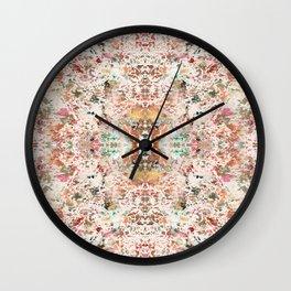 Mystic Minerals Wall Clock