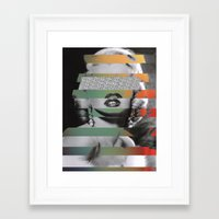 monroe Framed Art Prints featuring MONROE by Jackson Todd