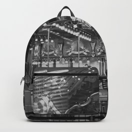 black and white childhood Backpack