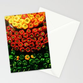 Bell Pepper Display Stationery Cards