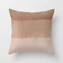 Dusty Rose Ombre Throw Pillow