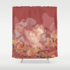 Lines and shapes Shower Curtain