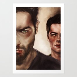 Blood and Bruises Art Print