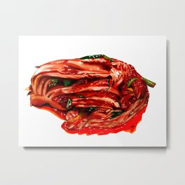 Home Made Kimchi Metal Print