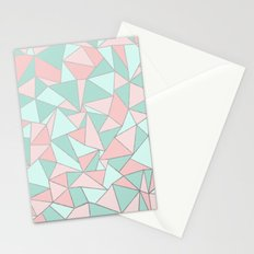 Ab Out Mint and Blush Stationery Cards