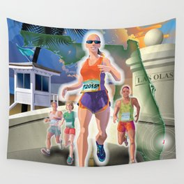 Fort Lauderdale A1A Marathon Wall Tapestry