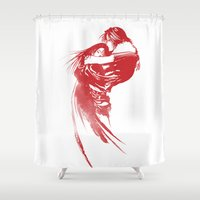 final fantasy Shower Curtains featuring FINAL FANTASY VIII  by DrakenStuff+