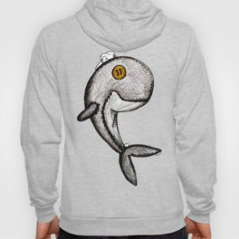 Woody the Whale Hoody