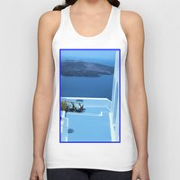 greek Tank Tops featuring Greek Holiday by Brian Raggatt