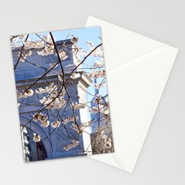 Beginning to bloom NYC Stationery Cards