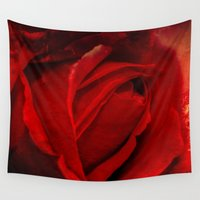 passion Wall Tapestries featuring Passion by Loredana