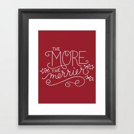 Merrier Framed Art Print