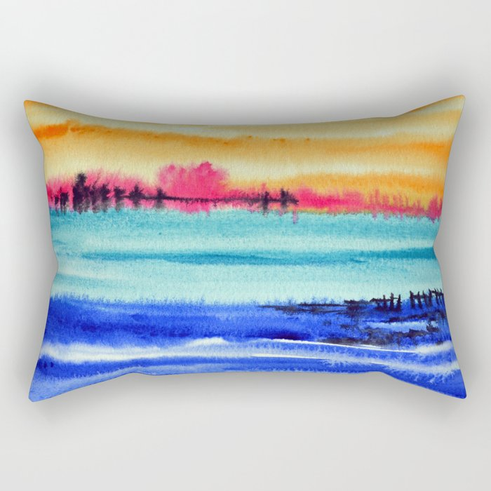 Sunset beauty Rectangular Pillow