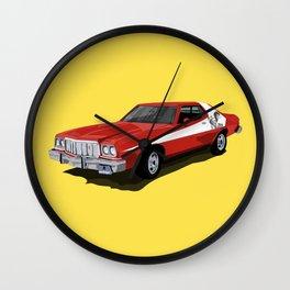 Starsky and Hutch car Wall Clock