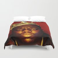 biggie Duvet Covers featuring Biggie by I Love Decor