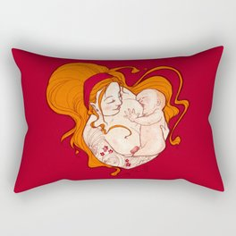 The breastfeeding Rectangular Pillow