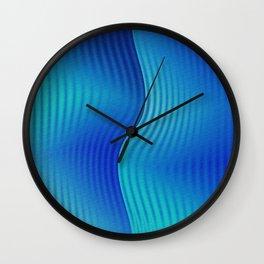 Underwater transformation Wall Clock