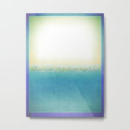 Vintage Beach (Or Memory of a Summer Day) Metal Print