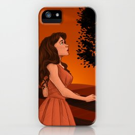 Learn to let the longing go iPhone Case