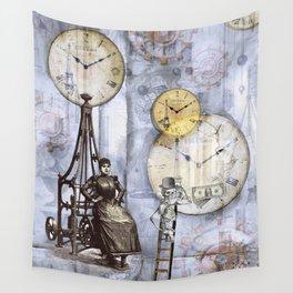 Servants of money Wall Tapestry