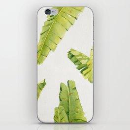 Tropical Banana Leaves iPhone Skin
