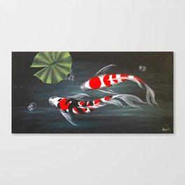 Koi Creek 2 Canvas Print